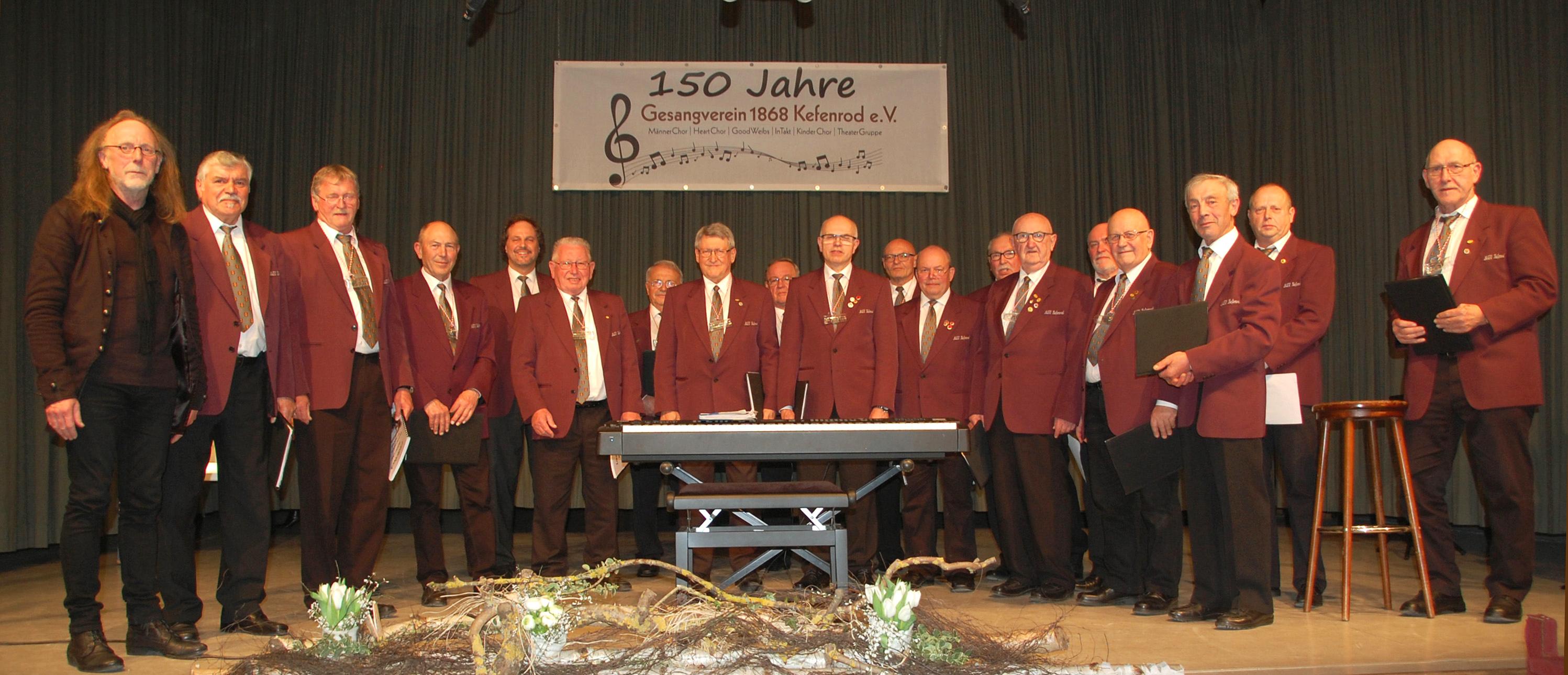 150 Jahre Gesangverein 1868 Kefenrod E.V.